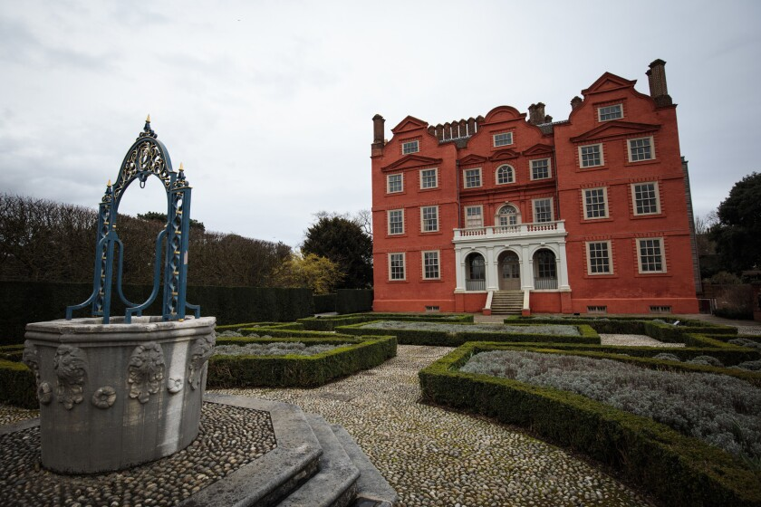 Kew Palace Prepares For Spring Opening
