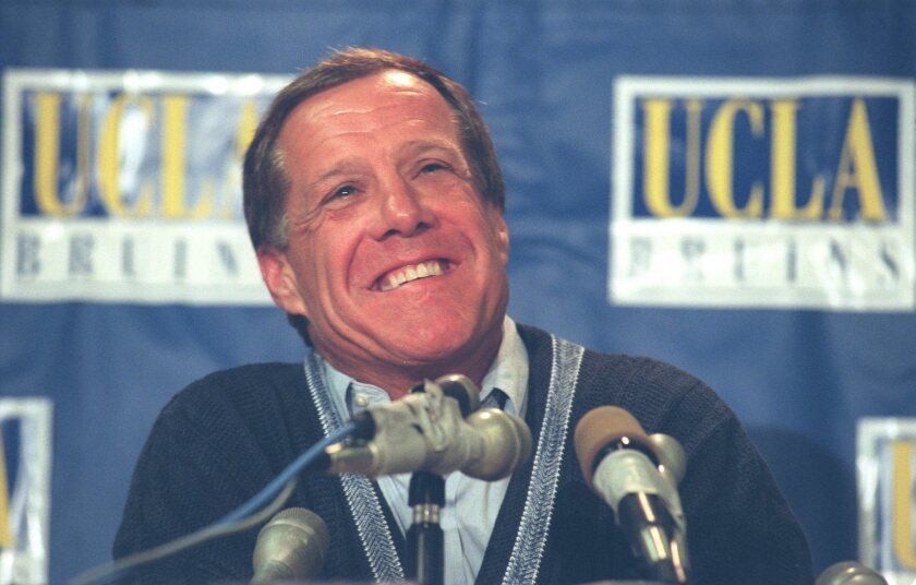 Former UCLA football coach Terry Donahue had been battling cancer