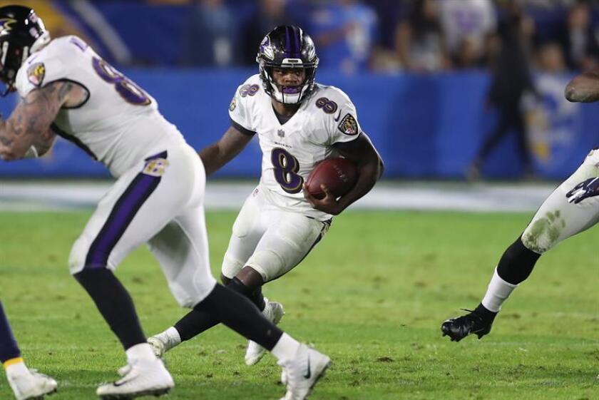 26-24. Jackson otorga a los Ravens el título de la División Norte