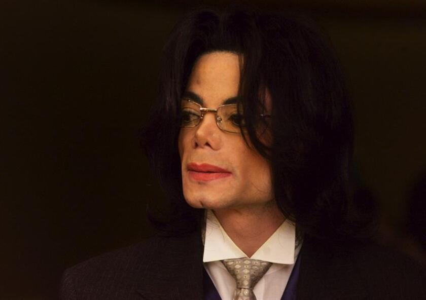 Fotografía de archivo del cantante estadounidense Michael Jackson. EFE/Archivo
