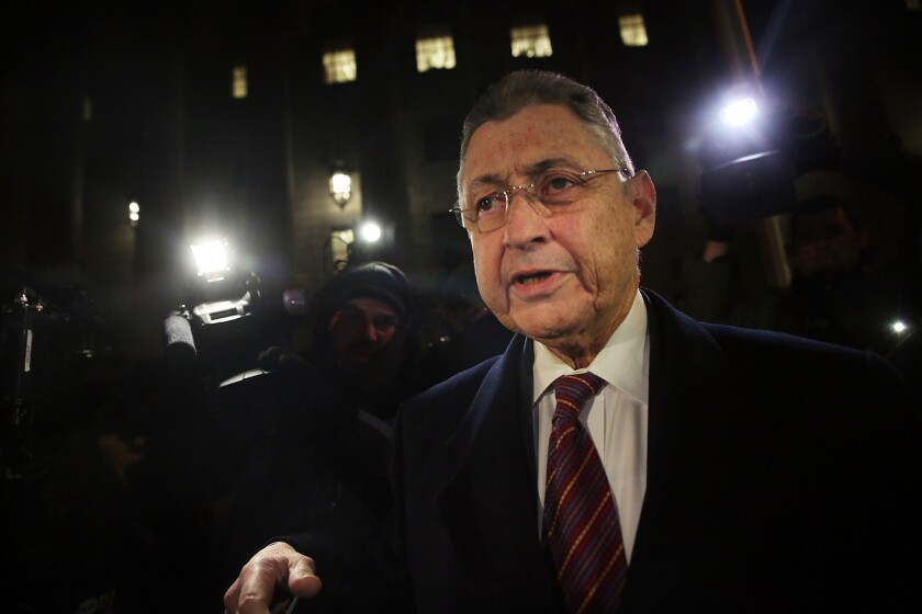Former Assembly Speaker Sheldon Silver is scheduled to surrender at prison Oct. 5.
