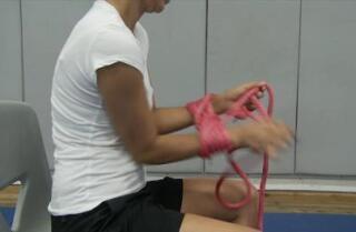 Hand-binding video
