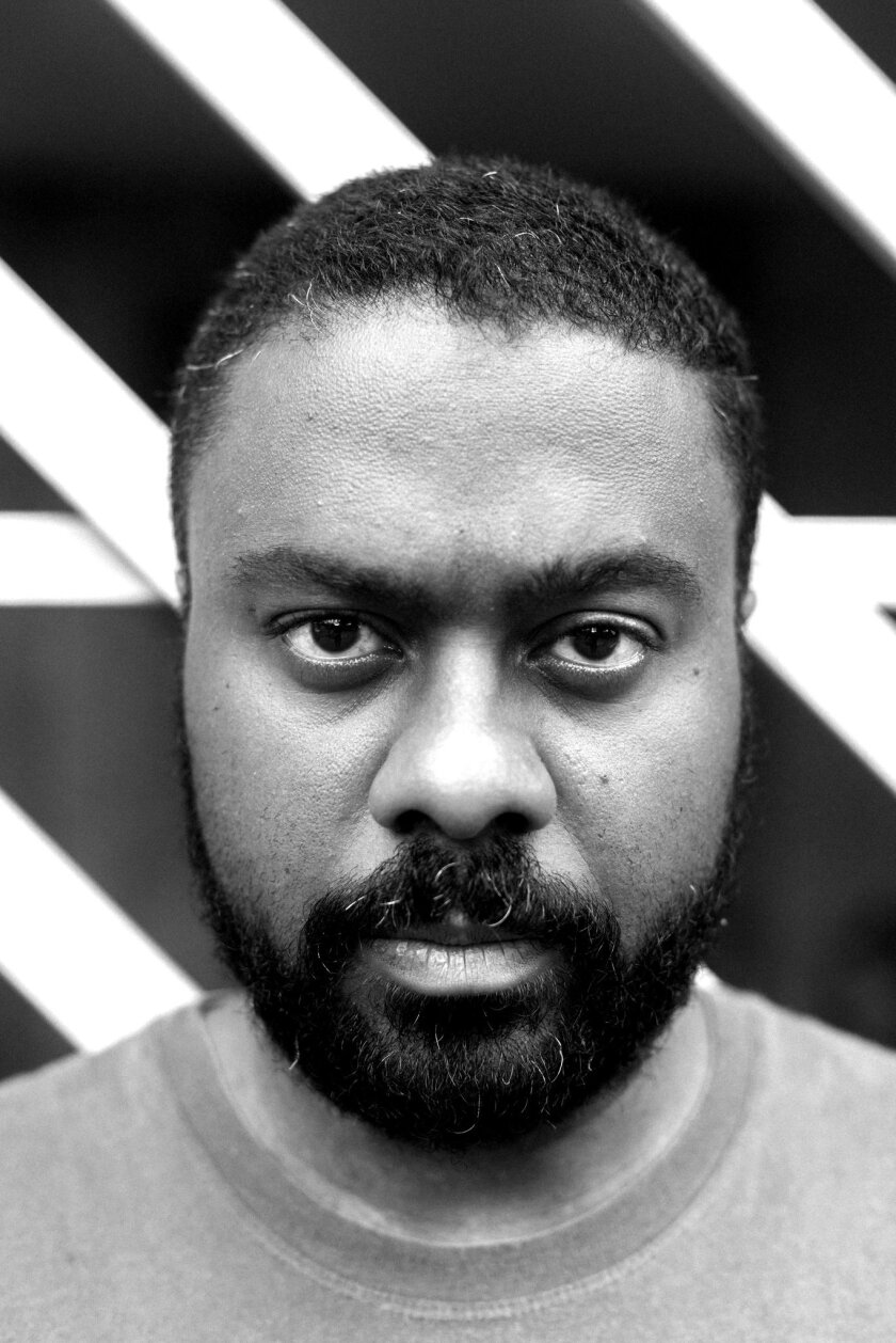 "An author photo of Marcelo D'Salete for his graphic novel ""Angola Janga."" Credit: Rafael Roncato/ Ma"
