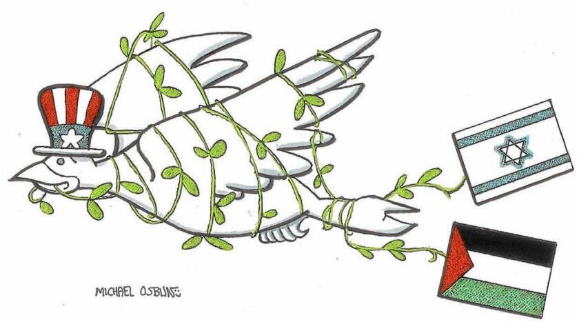 Illustration: Israeli-Palestinian peace agreement