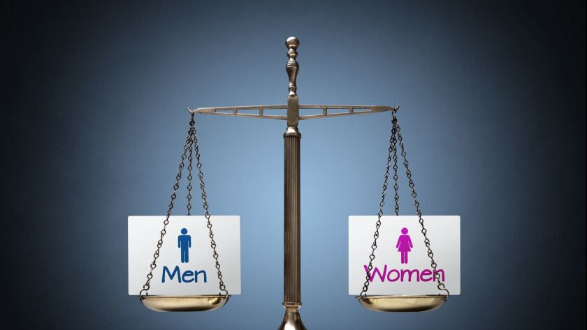 Gender equality. Pay equality. (Brian Jackson via Getty Images) ** OUTS - ELSENT, FPG, CM - OUTS * N