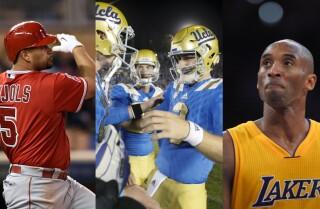 Bill Plaschke's Wakeup Call: A magical weekend for L.A. sports