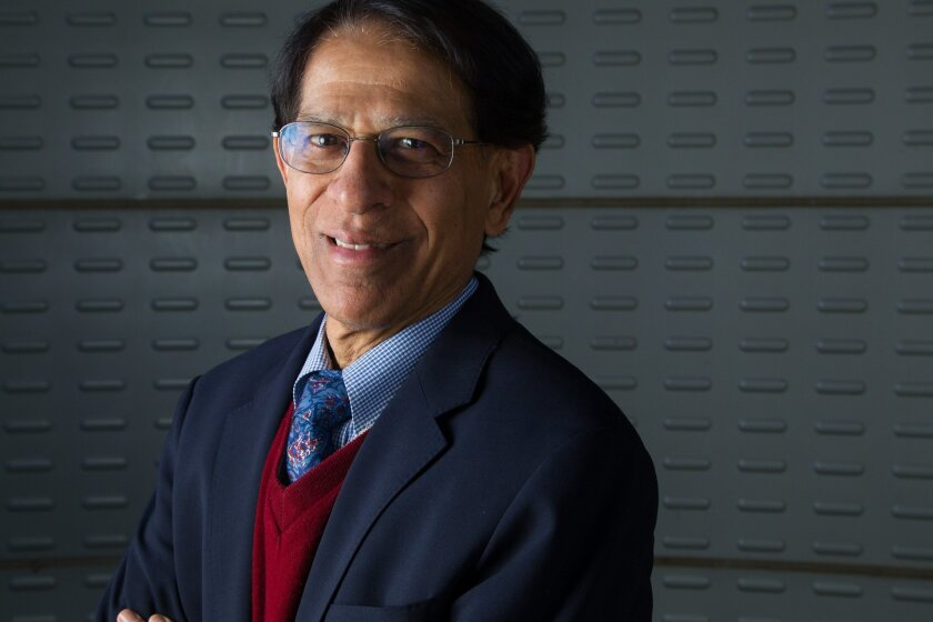 Dr. Dilip Jeste, the senior associate dean for healthy aging and senior care at UCSD's Stein Institute for Research on Aging, has pulled together a prestigious group of doctors, academics and other experts for a new think tank.