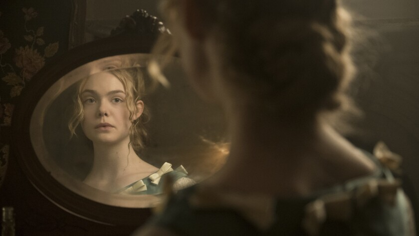 "Elle Fanning stars as Alicia in Sofia Coppola's ""The Beguiled."""