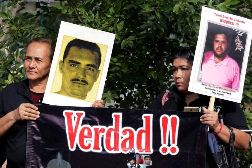 MEXICO-CRIME-VIOLENCE-CORPSES-PROTEST