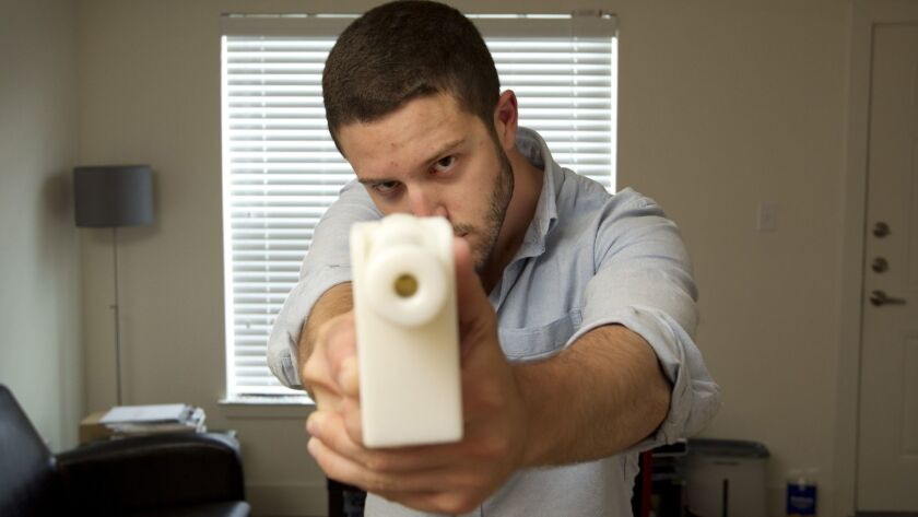The first completely 3D-printed handgun.
