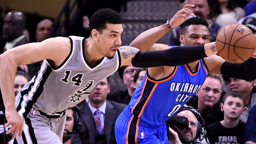 Danny Green, Russell Westbrook