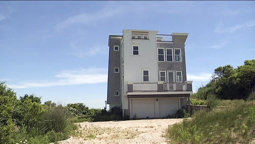 The Rhode Island Supreme Court has ordered that this $1.8-million waterfront house built on parkland in Narragansett be removed.