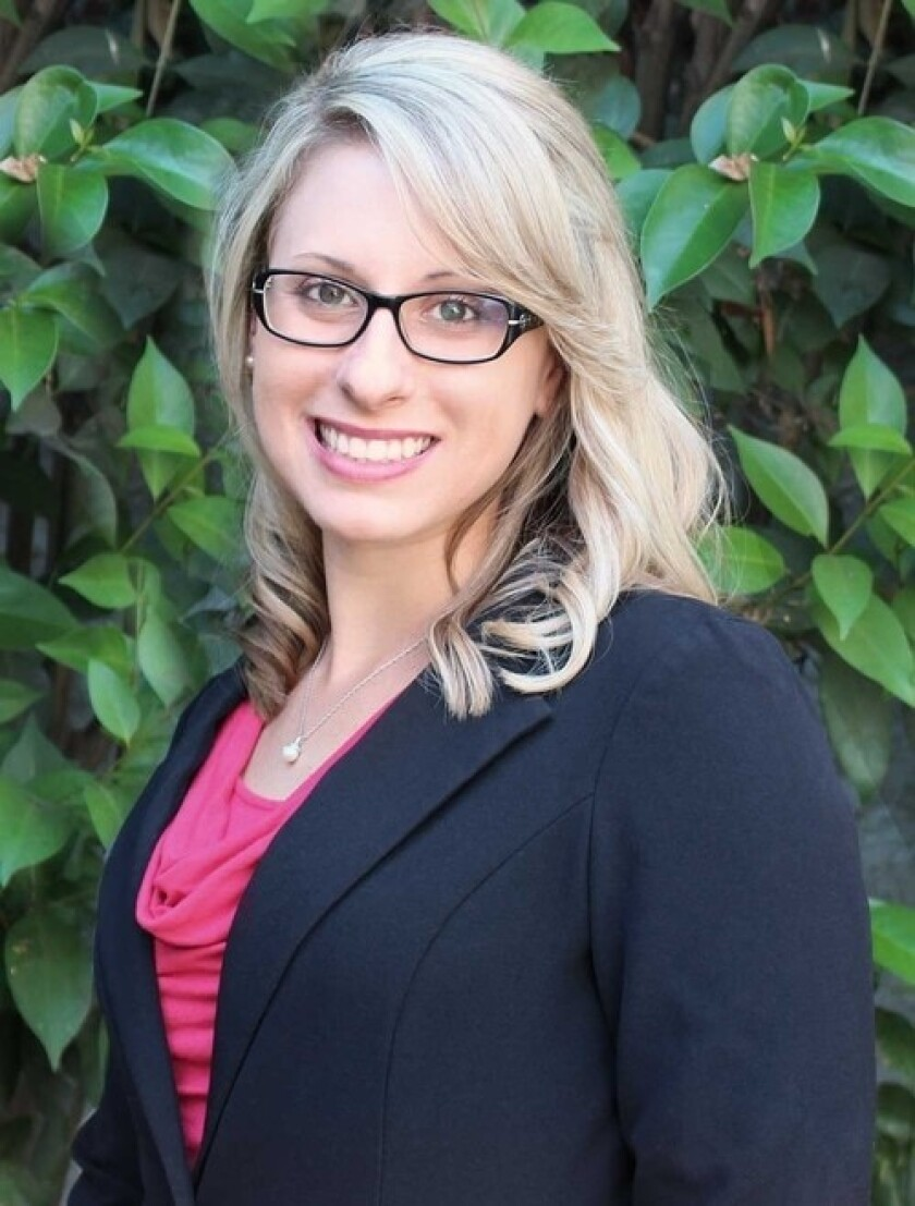 Congressional candidate Katie Hill