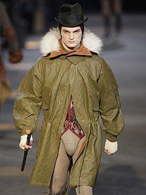 Alexander McQueen for fall-winter 2009, Milan