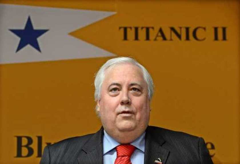 Same Titanic but brand-new, built from scratch, billionaire says