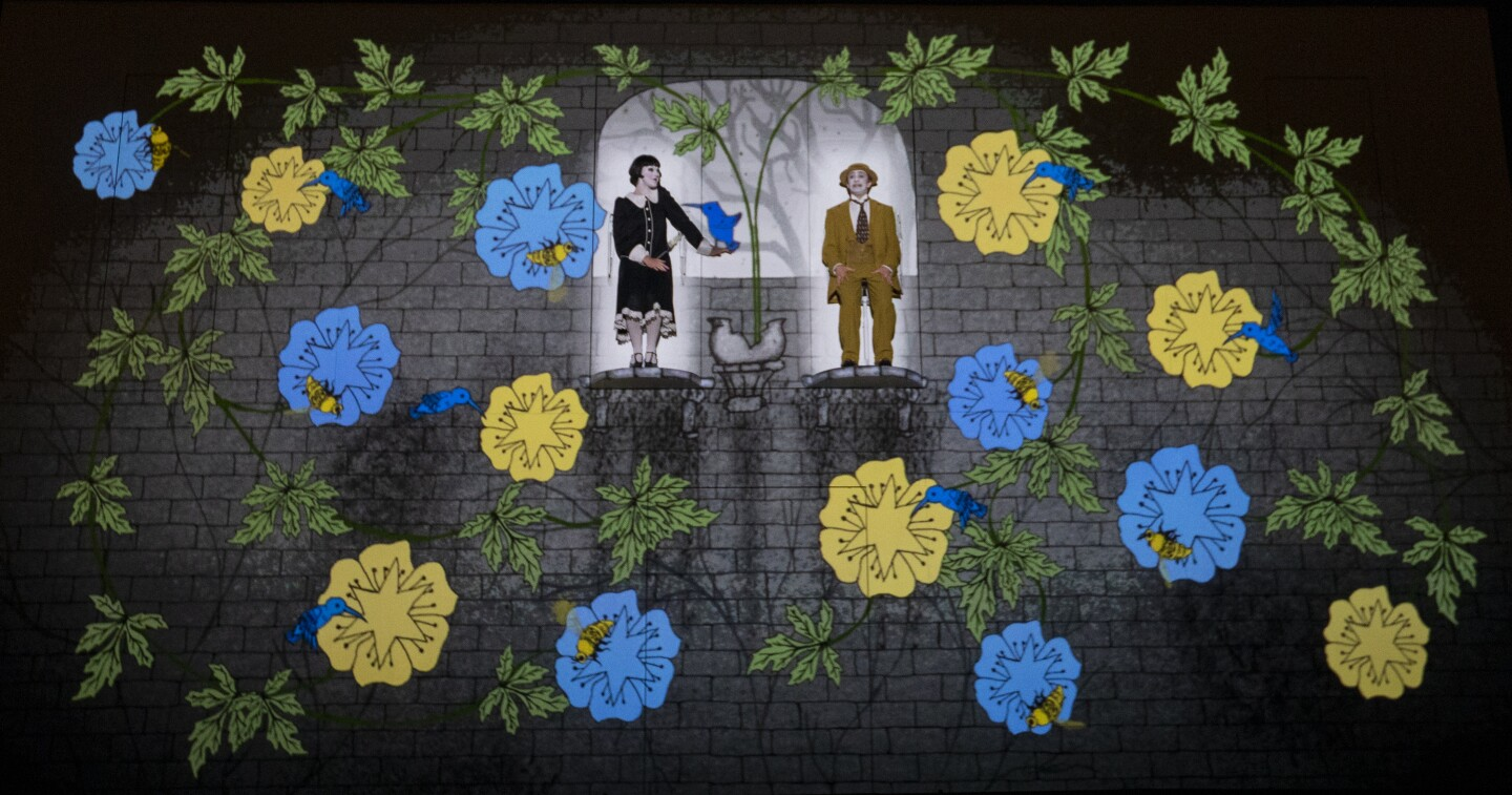 L.A. Opera: Photographs from 'The Magic Flute' - Los Angeles Times