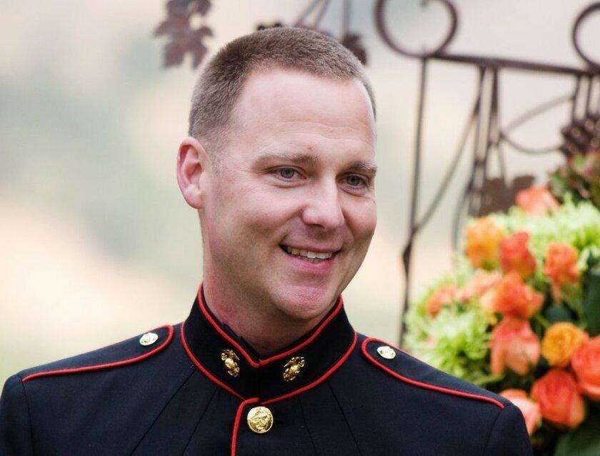 Retired Marine Russell Murzyn.