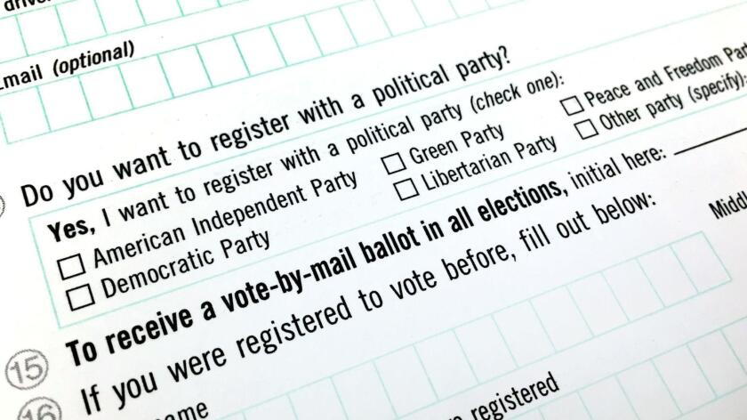 List of political parties on a ballot