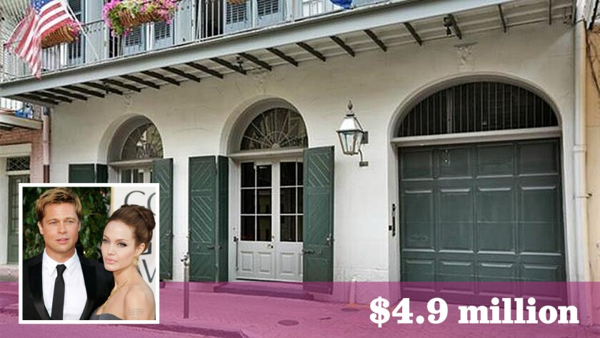 Amid a public separation, Brad Pitt and Angelina Jolie have sold their home in New Orleans for $4.9 million.