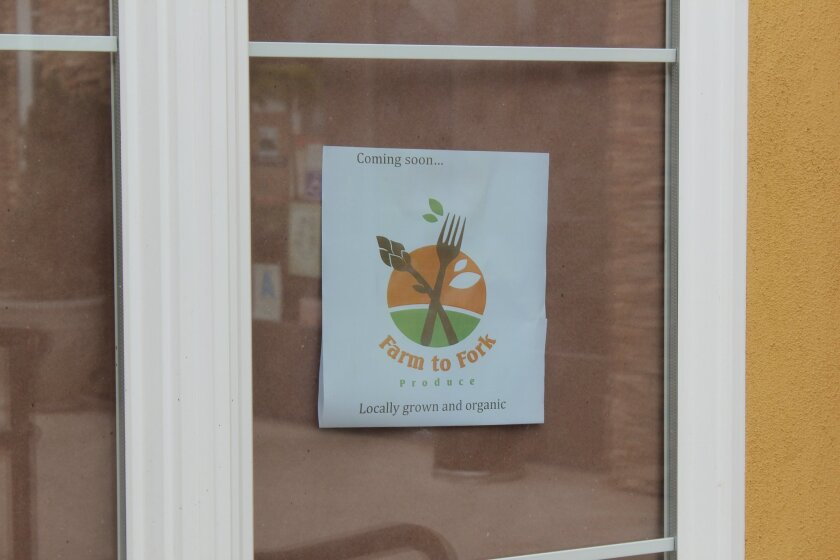 Farm to Fork will open at the end of October.