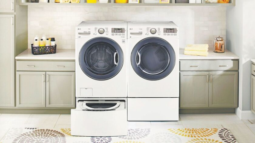 Dual load capacity and steam enhance the latest appliances.