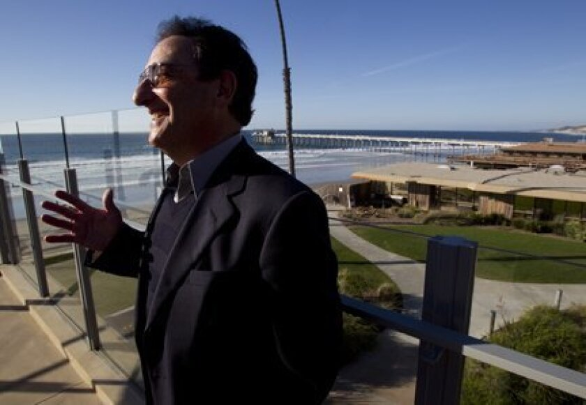 NPR's Ira Flatow visited the Scripps Institution of Oceanography on Nov. 9 to accept the Nierenberg Prize and give a public lecture.