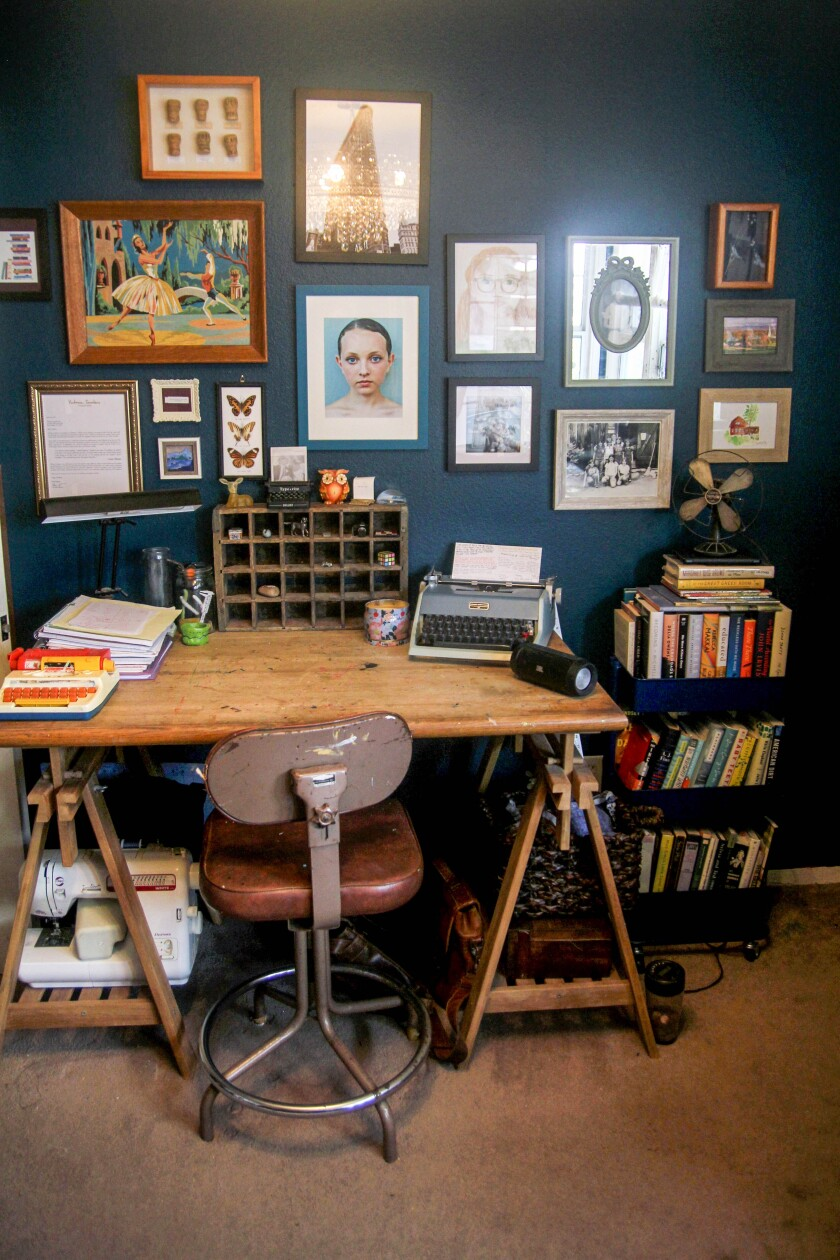 Another look at author Tammy Greenwood's home office.