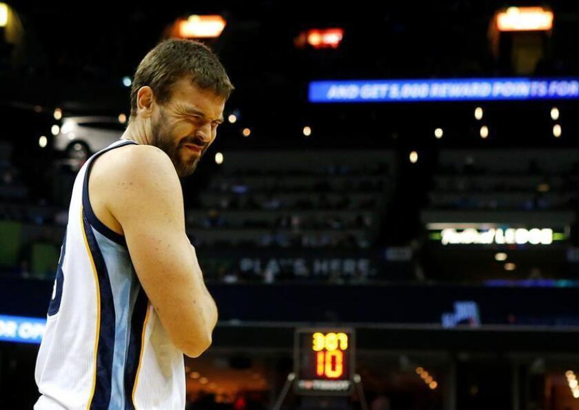 En la imagen, el español Marc Gasol de Memphis Grizzlies. EFE/Archivo