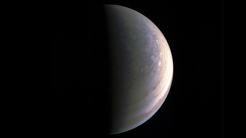 Jupiter's north pole