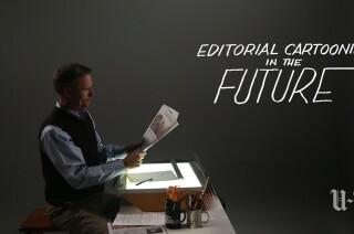 Editorial cartooning in the future