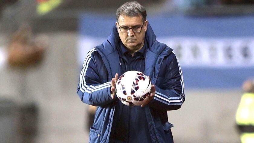 Gerardo 'Tata' Martino, entrenador argentino.