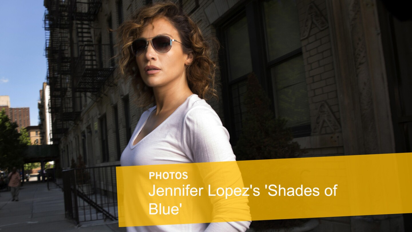 Jennifer Lopez in 'Shades of Blue'