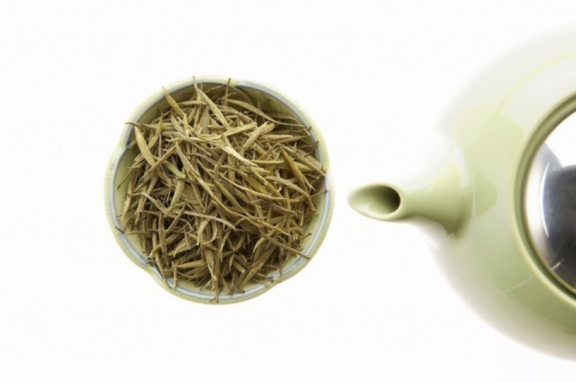 Green tea has become a popular ingredient in skin products.