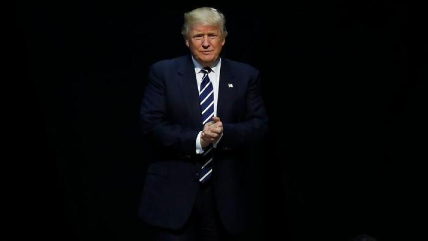 Foto de archivo del presidente electo, Donald Trump, Paul Sancya / Associated Press.