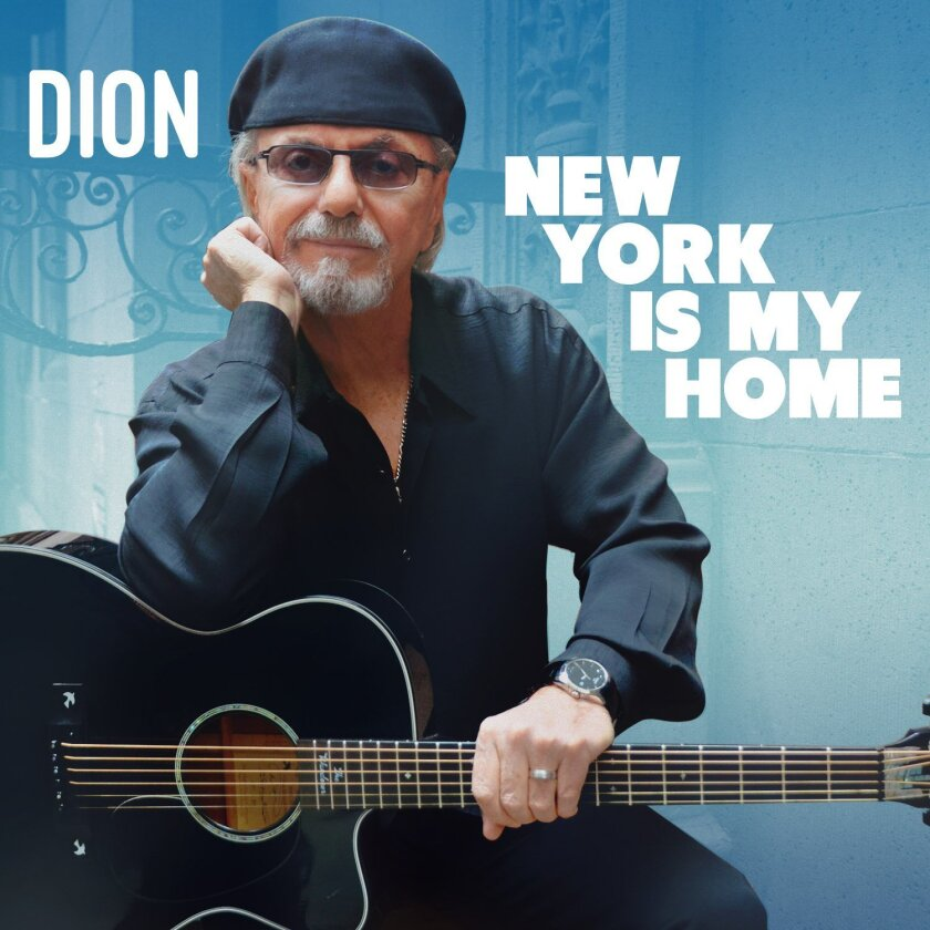 """This CD cover image released by Instant Records shows """"New York is My Home,"""" by Dion. (Instant Records via AP)"""