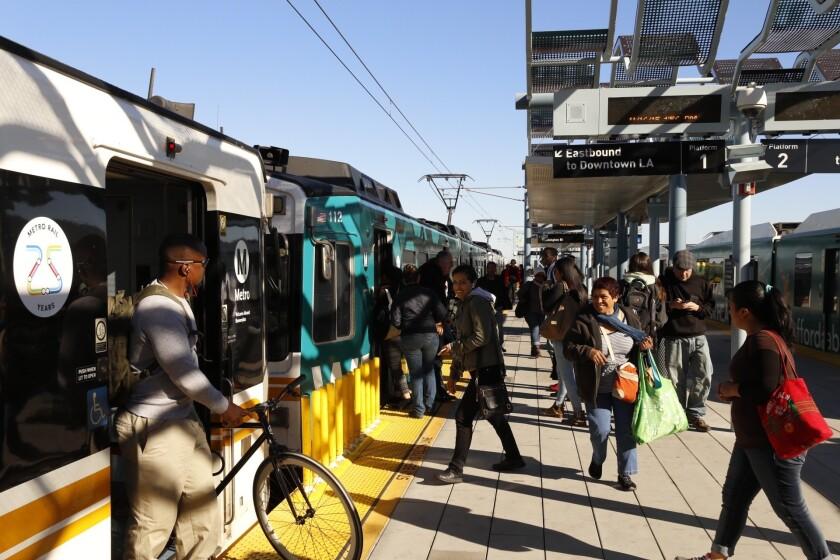 Transit in Los Angeles