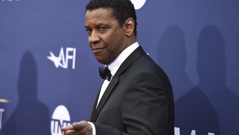 Denzel Washington was recently filmed helping a man confronted by police in Los Angeles.