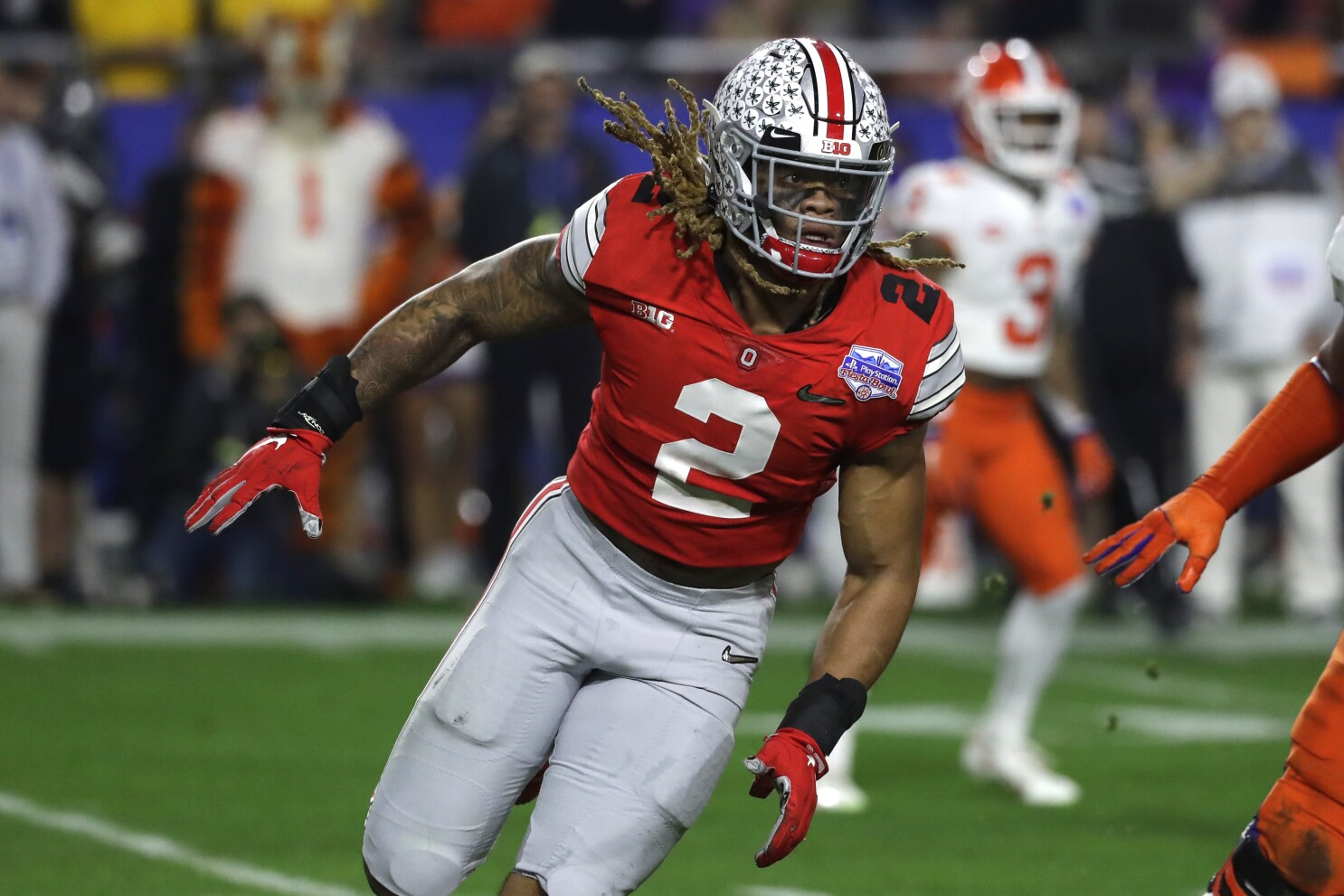 NFL Combine: Ohio State's Chase Young creating the most buzz - Los ...
