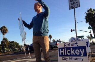 Robert Hickey votes