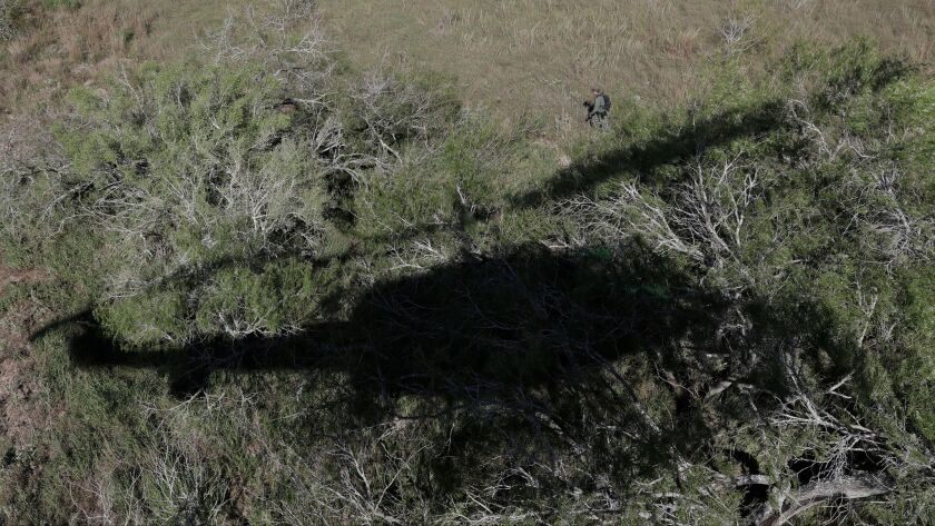 Border patrol in Texas