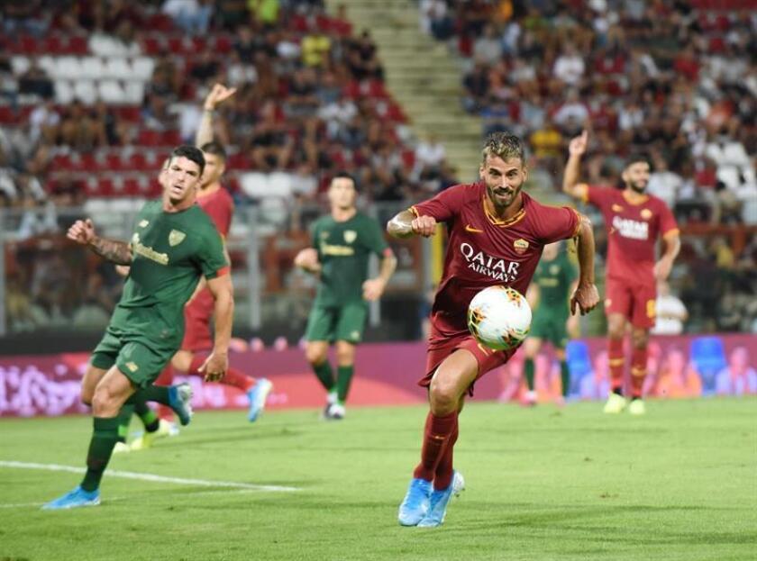 2-2. El Athletic, con diez, empata con la Roma en su último ensayo general