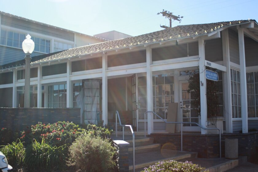 The soon-to-be home of Sugar and Scribe, which will specialize in custom desserts at 7660 Fay Ave.
