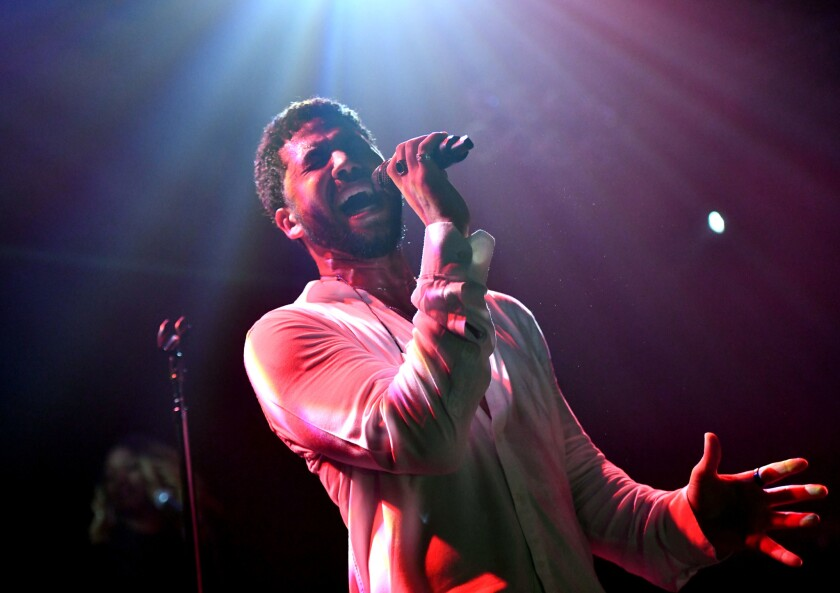 BESTPIX: Jussie Smollett Performs At The Troubadour - West Hollywood, CA