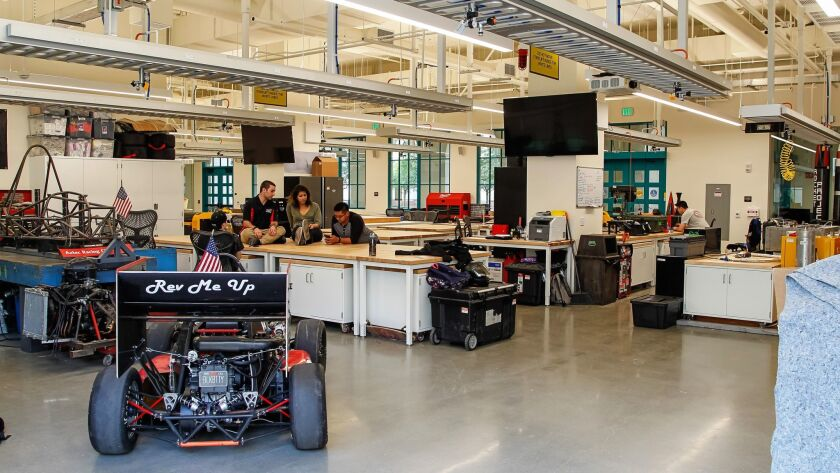 SAN DIEGO, CA January 16th, 2018 | This is one of the labs at the new $90 million Engineering and In