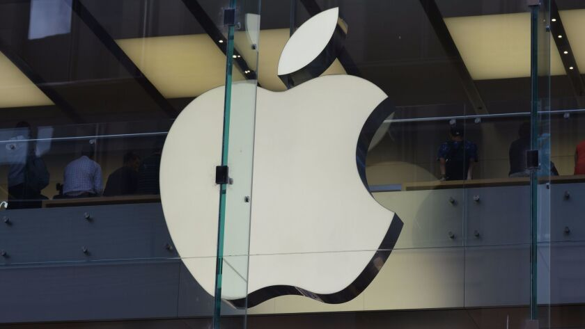 Apple Chief Executive Tim Cook said the company is focusing on autonomous systems.