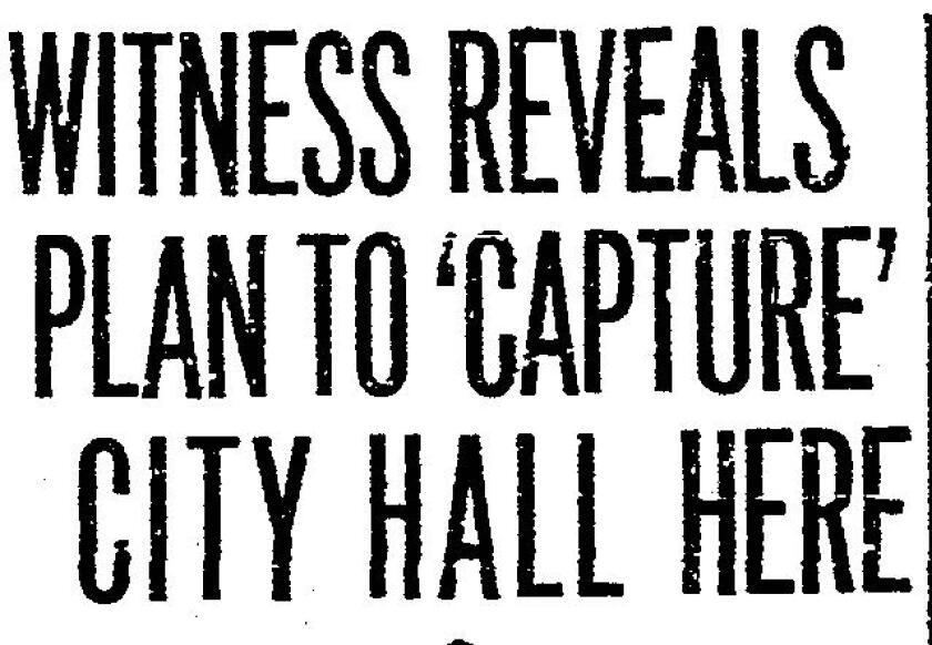 San Diego Union headline Aug. 8, 1934