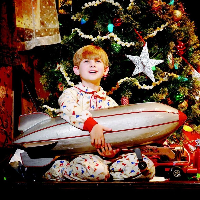 "Noah Baird as Randy Parker in ""A Christmas Story, The Musical,"" which will play at New York's Madison Square Garden next month. CREDIT: Carol Rosegg"