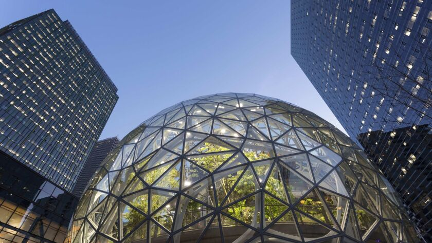 Amazon unveils 20-city short list for $5 billion second headquarters