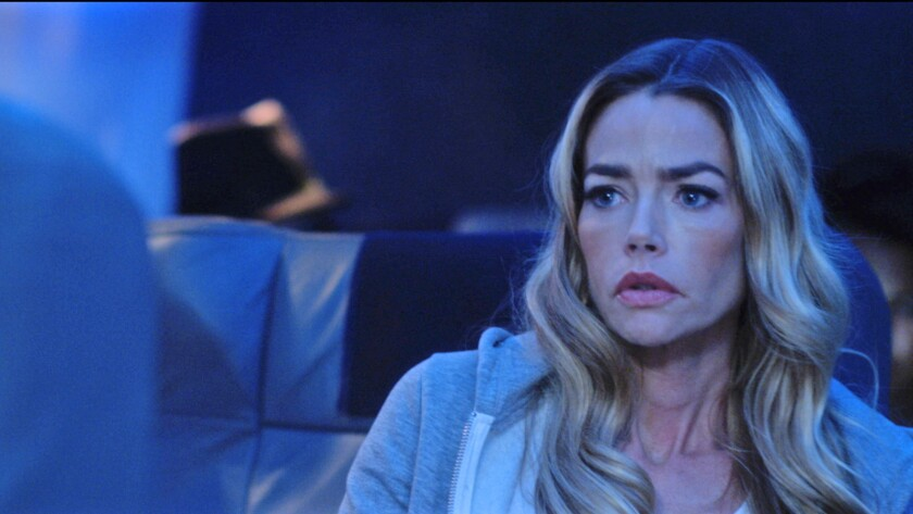 "Denise Richards in the movie ""Altitude."""