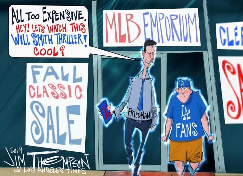Dodgers fans are feeling the trade deadline blues
